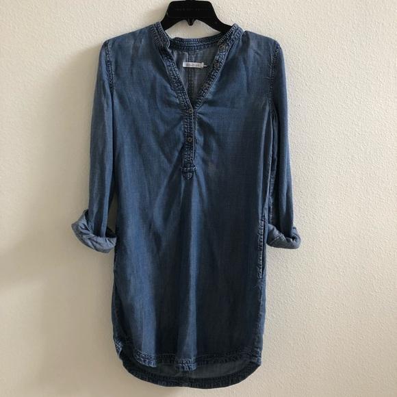 220f62d7b Kenneth Cole Reaction Dresses | Denim Tunic Shirt Dress | Poshmark